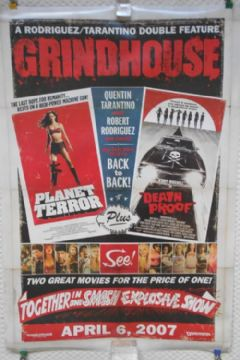 Grindhouse, Original DS 1sh Film Poster, Tarantino, Rodriguez, Russell, '07